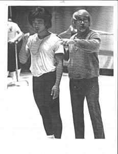 Eugene Loring & Leslie Watanabe. 1970. UC Irvine, Ca. Photographer: Unknown.