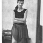Carol Scothorn, dance faculty, UCLA 1956, unknown photographer, Don Bondi collection.