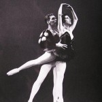 Joey Harris and Lois Ellyn in the Black Swan pas de deux. Photo by Steve Mason, from the Don Hewitt archive.