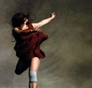 Red Dress Jump no #1